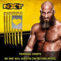 Tommaso Ciampa - No One Will Survive (Custom Cover
