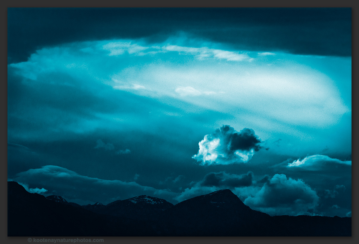 Blue Cloud by kootenayphotos