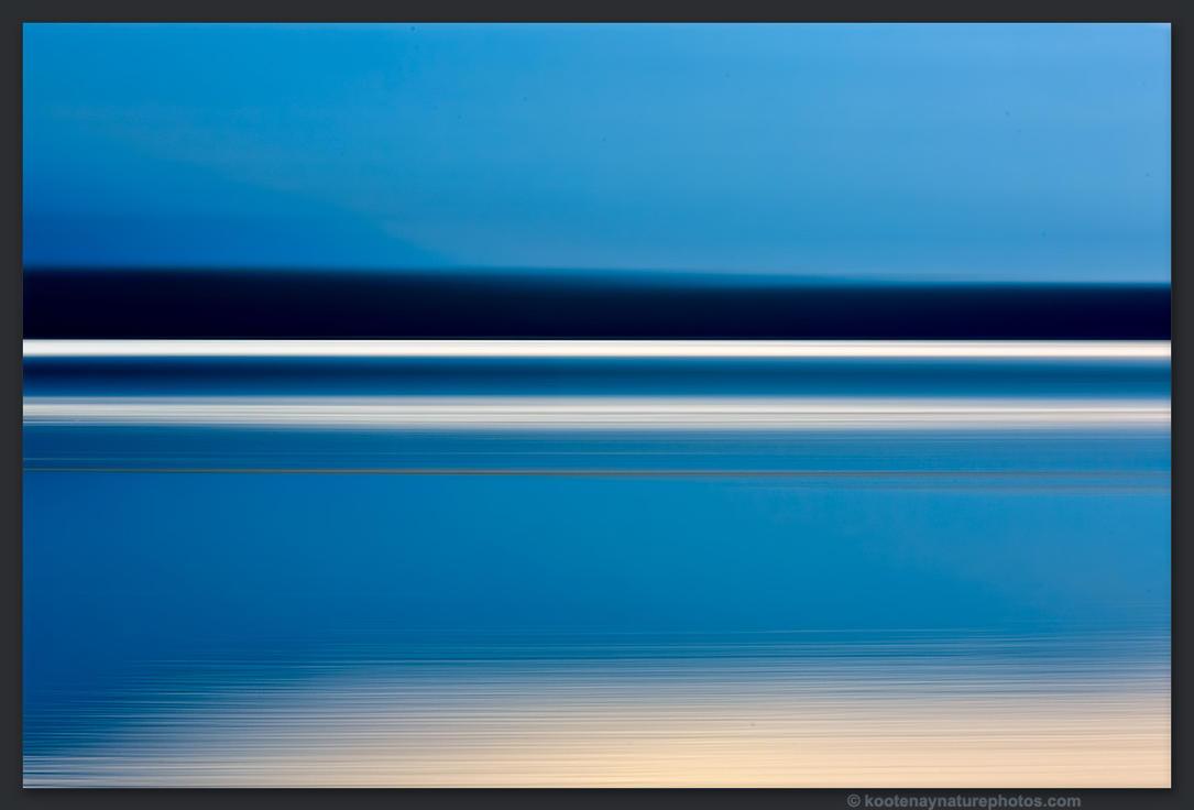 Lake - Motion 3 by kootenayphotos