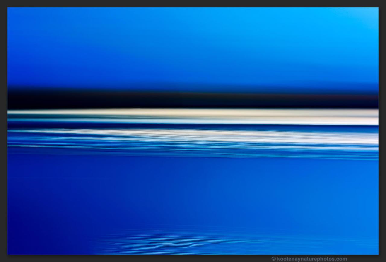 Lake - Motion 4 by kootenayphotos
