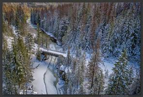 Goat River Bridge by kootenayphotos