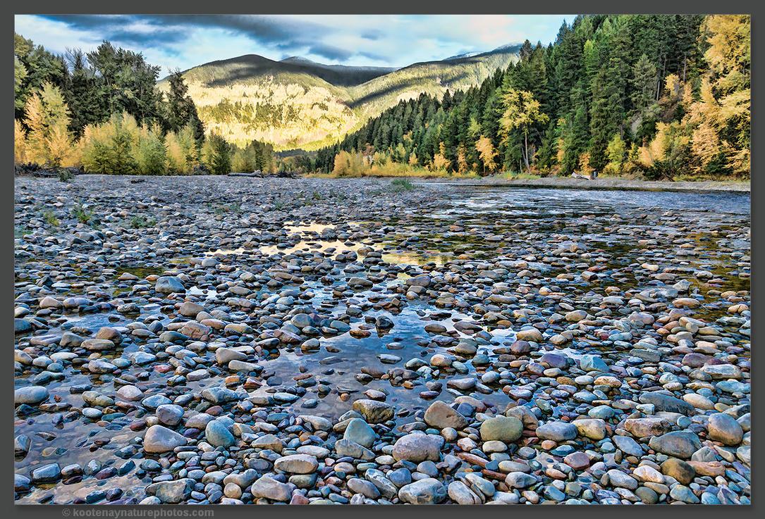 Riverbed 1 by kootenayphotos
