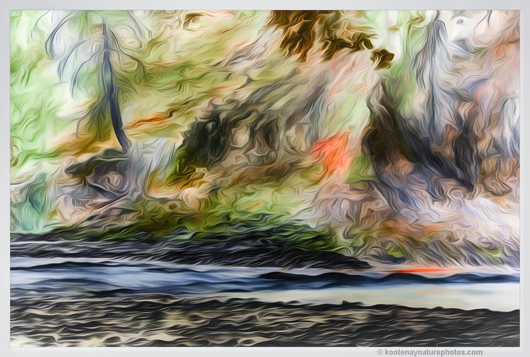 Riverbank by kootenayphotos