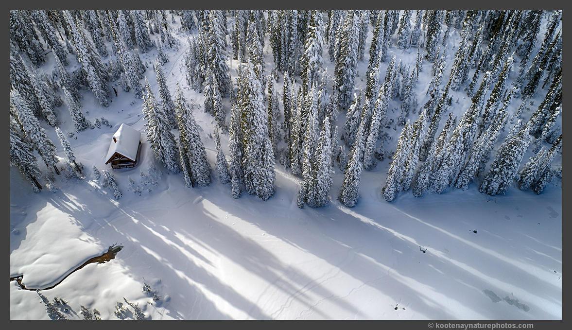 Cabin by kootenayphotos