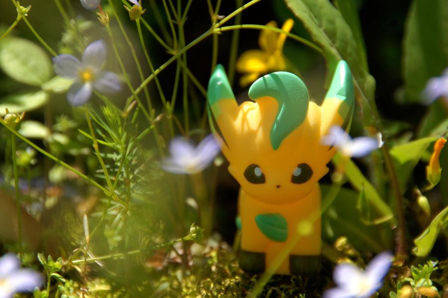 Shiny Leafeon - 3 by Mana-Mihara on DeviantArt
