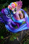 Sugar Skull Luna and Celestia - 3