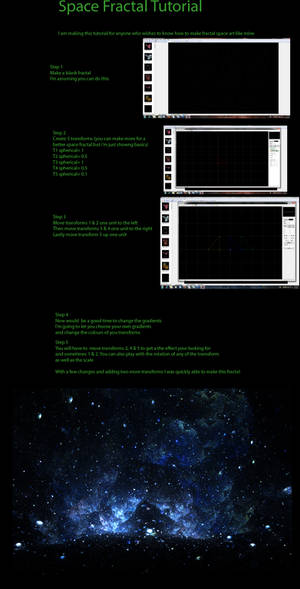 Space Fractal Tutorial