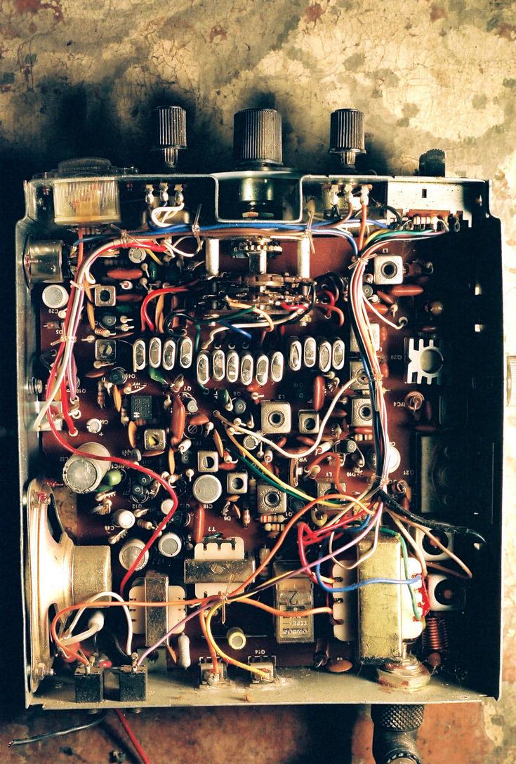 CB Radio Internal Closeup by XETuseer