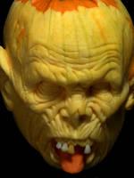 Pumpkin Zombie by rgclayboy
