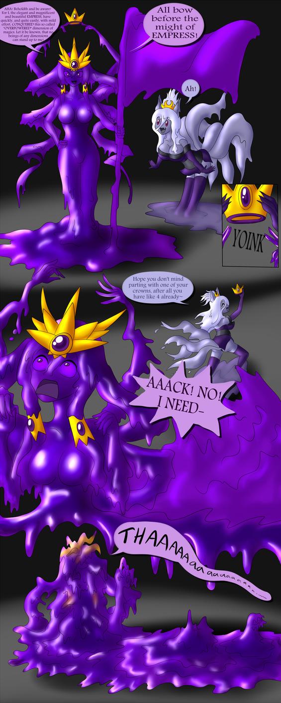 A Royal Visit to the Kistune Dimension P1 by DoodleDowd