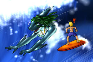 Surf's Up Peri!