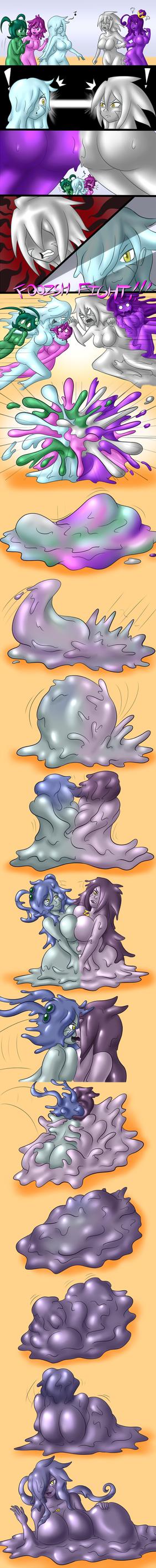 Goop Troop VS Queen Zinc by DoodleDowd