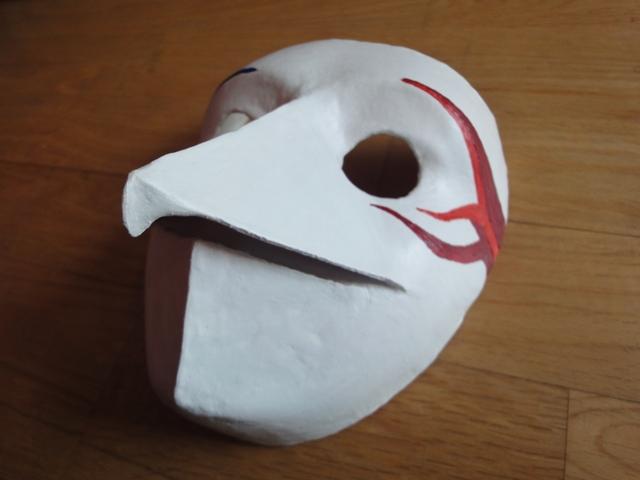 To Make A Anbu Mask To make things its improve name it but how to make    How To Make A Anbu Mask