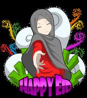 Happy Eid by Crowmaru