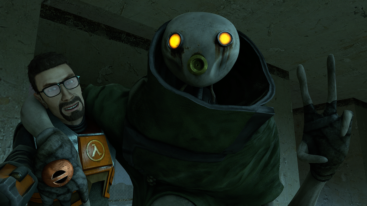 (SFM) Half-Life 2 10th Anniversary Selfie by Sir-Egon