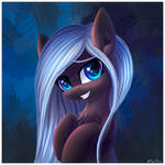 Pony is watching