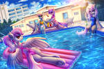 Pool relaxation by Atlas-66