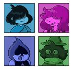 It's the Fun Gang! by bearalina
