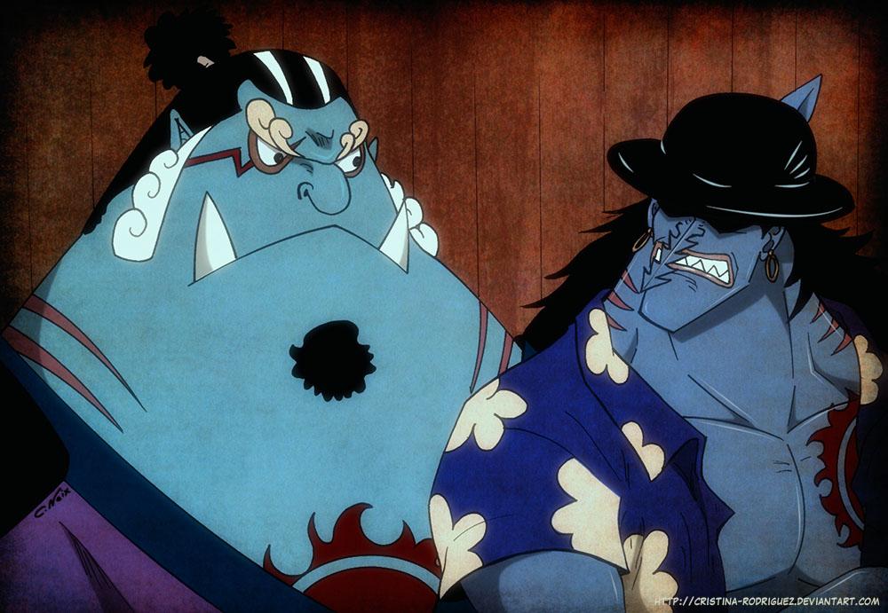 Jinbei and Arlong ONE PIECE FANART by Cristina-Rodriguez
