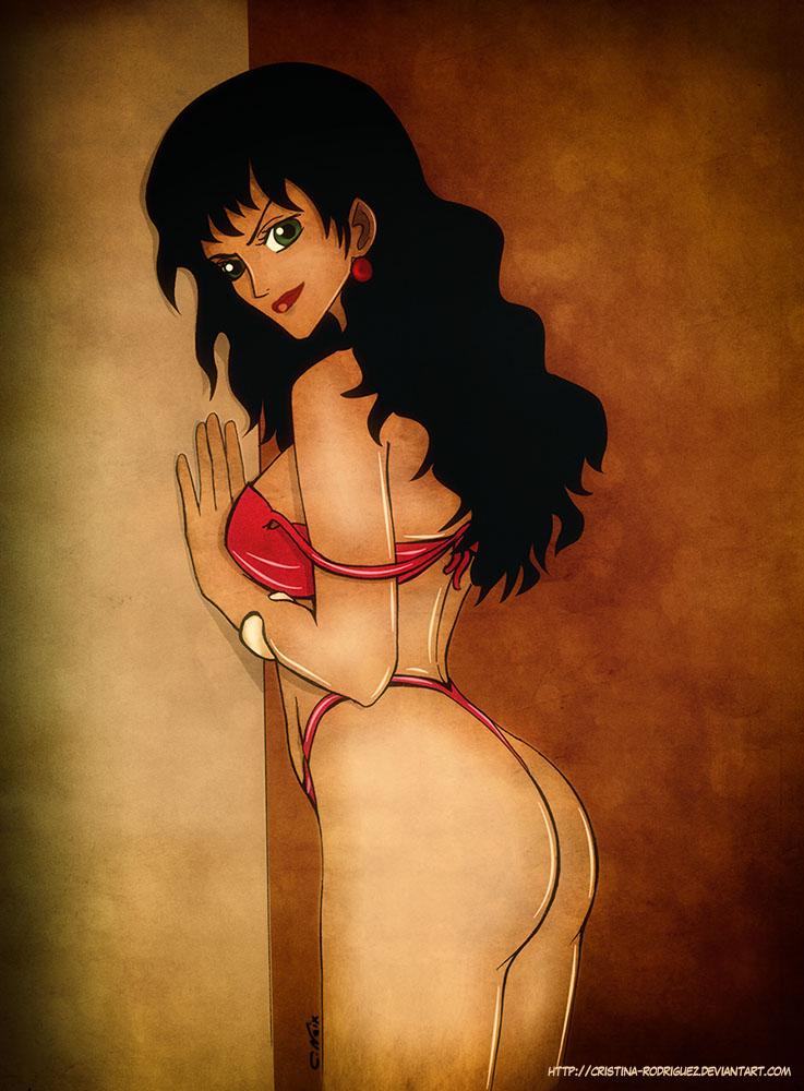 Lady Alvida - One piece fanart by Cristina-Rodriguez