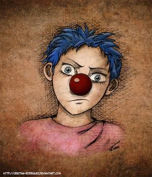 Buggy the clown kid - ONE PIECE fanart