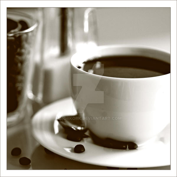 coffee by MorkOrk