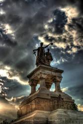 Statuia Eroilor Sanitari HDR by HDRenesys