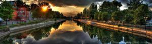 Panorama River HDR