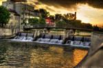 Sunset Bridge HDR