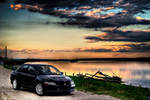 EVO VIII - At sunset river HDR