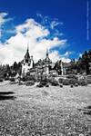 Peles Castle III HDR IR