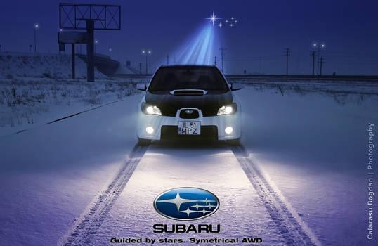 Guided by Stars. SUBARU AWD