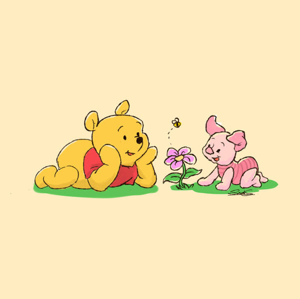 Winnie the Pooh by ObsidianTesseract