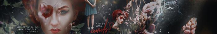 Alice in Wonderland Photoshoot {Banner} by strongerdiamonds