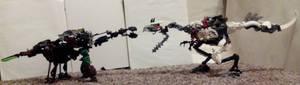 Obligatory Dinosaur Fight Scene