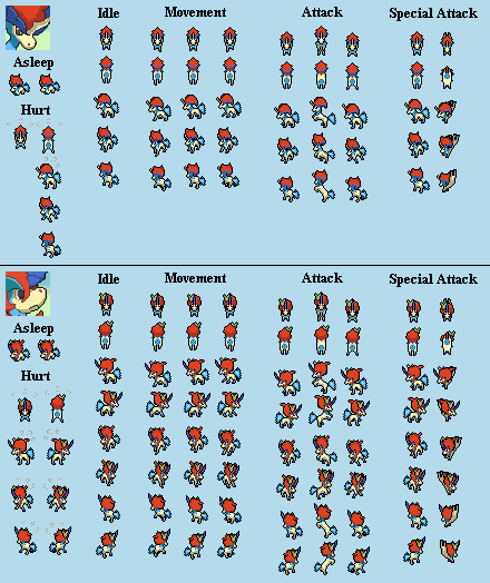 Unknown Pokemon Sprites