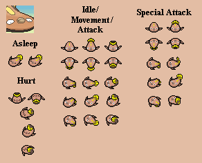 Stunfisk - PMD custom sprites