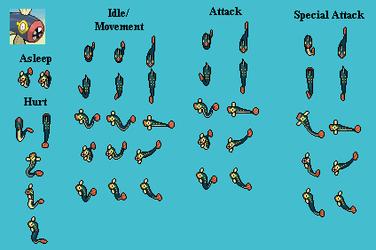 Eelektrik - PMD custom sprites