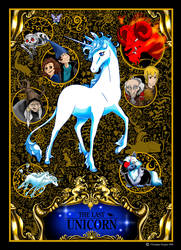 The last unicorn Cover by chrissi-dinos