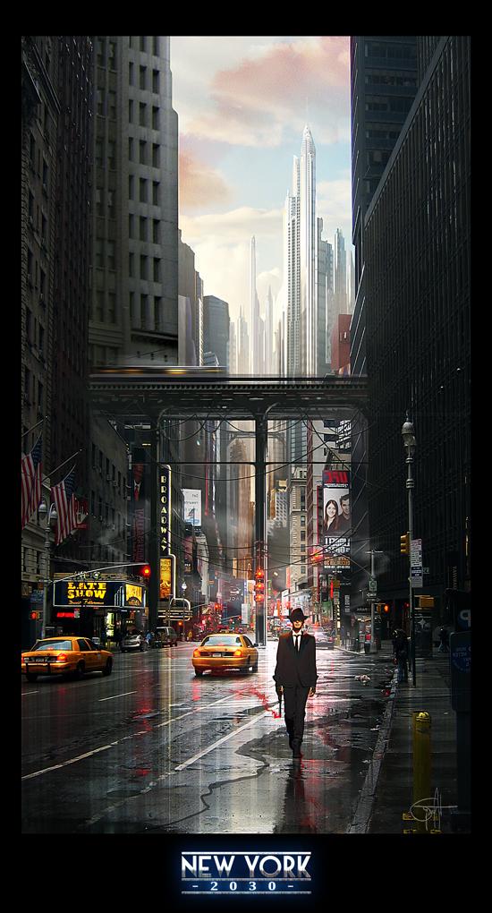 New York 2030 By Grivetart On DeviantArt