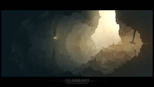 The Gold Cave by Grivetart
