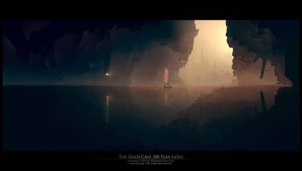 The Gold Cave 100 year later by Grivetart