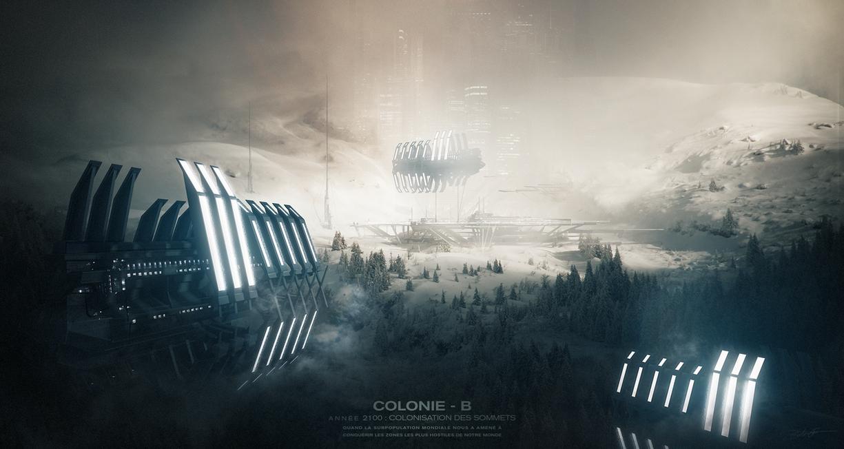 COLONIE B - 2100 by Grivetart