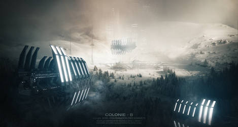 COLONIE B - 2100 by Grivetart