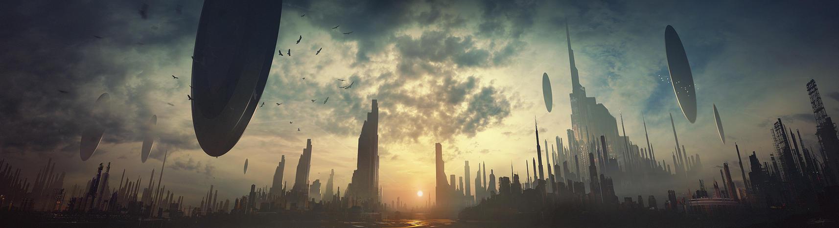 Last rays by Grivetart