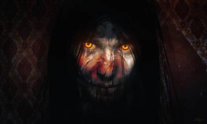 The Devil's Eyes by Grivetart