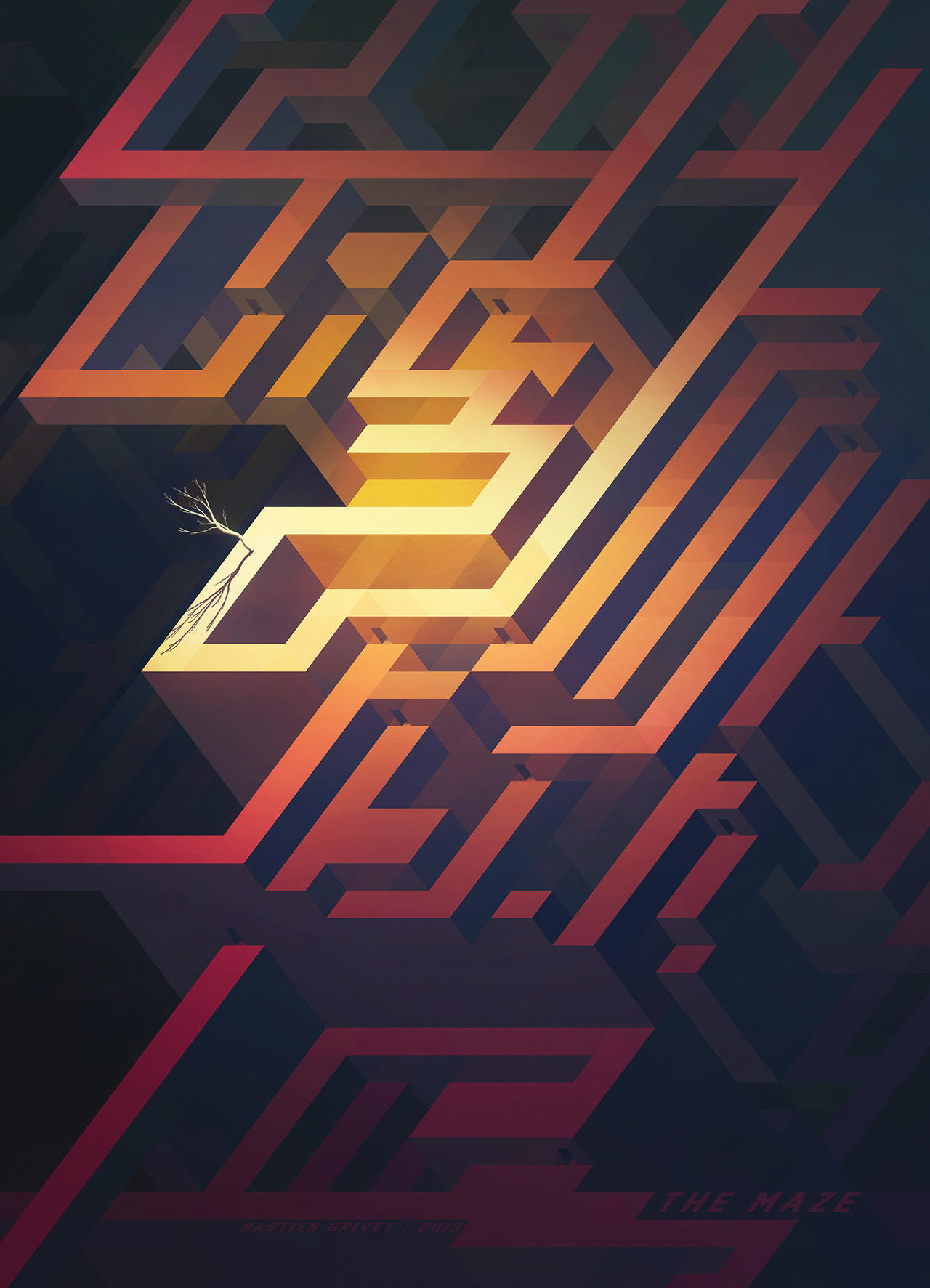 The Maze by Grivetart