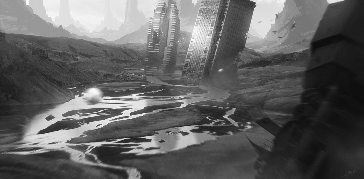 Ruins by Grivetart