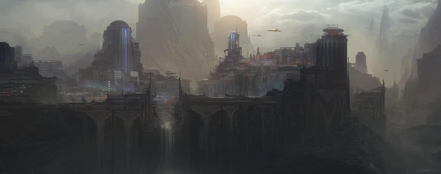 New Atlantis by Grivetart