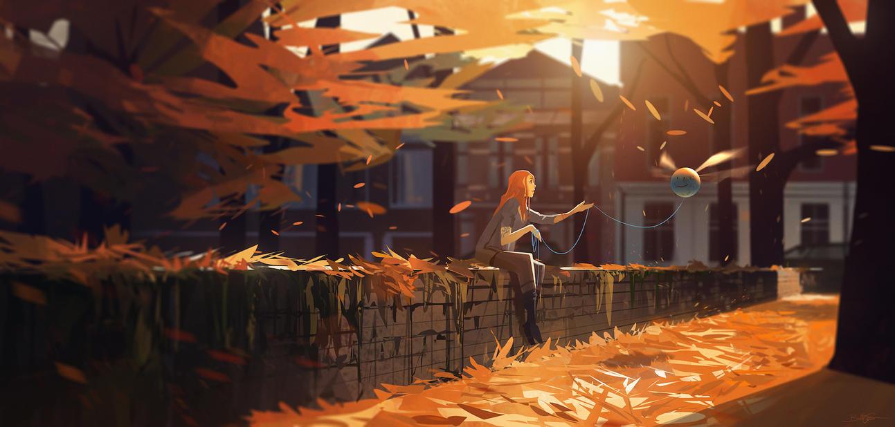 Autumn by Grivetart